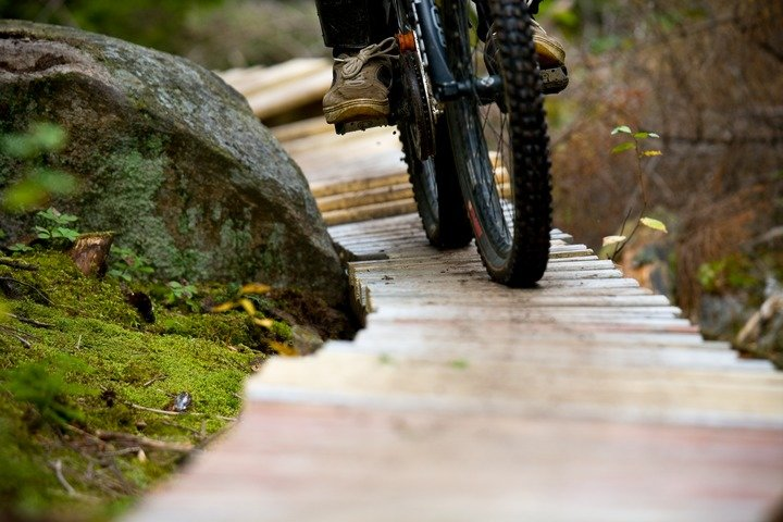 Mountain bike trails near Sunday River